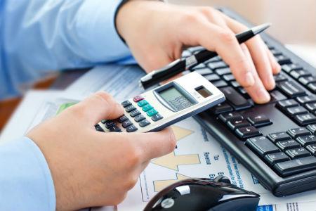 Калькулятор расчёта неустойки (пени) в долях от ключевой ставки ЦБ
