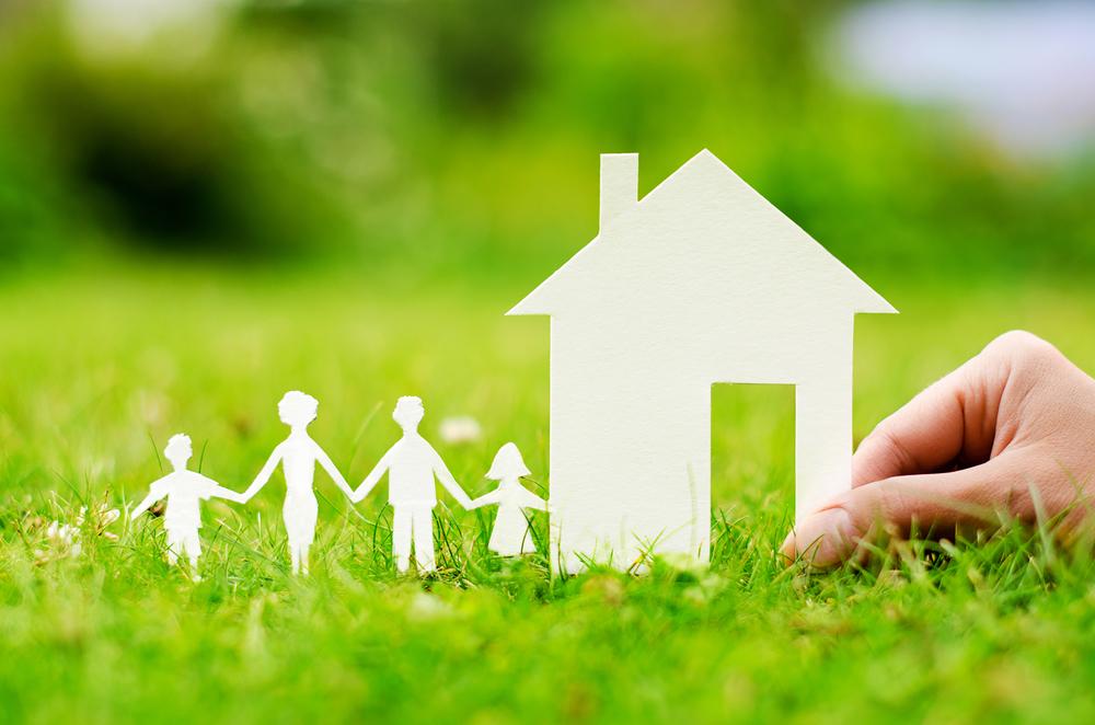 Как выделить доли детям в доме